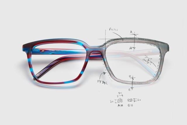 Tom Davies bespoke glasses